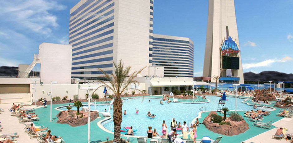 stratosphere las vegas piscine