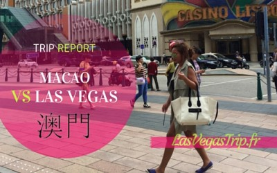 Macau Trip Report versus Las Vegas